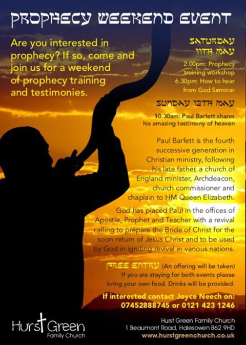 Are you interested in prophecy? | Hurst Green Family Church